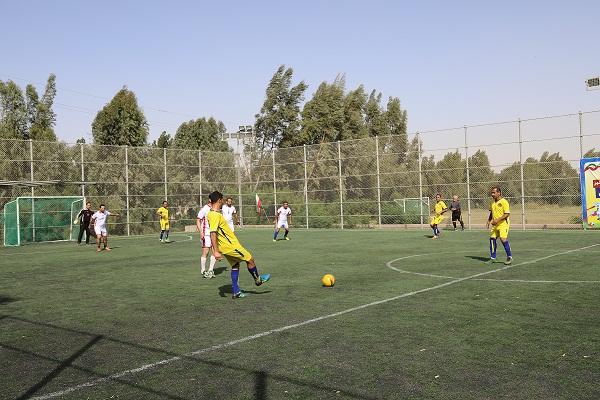 مسابقات ورزشی فوتسال کارکنان کمیته امداد بوشهر با قهرمانی تیم جم پایان یافت+ تصاویر