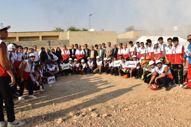 مرحله استانی هفتمین المپیاد امدادی جمعیت هلال احمر بوشهر برگزار شد