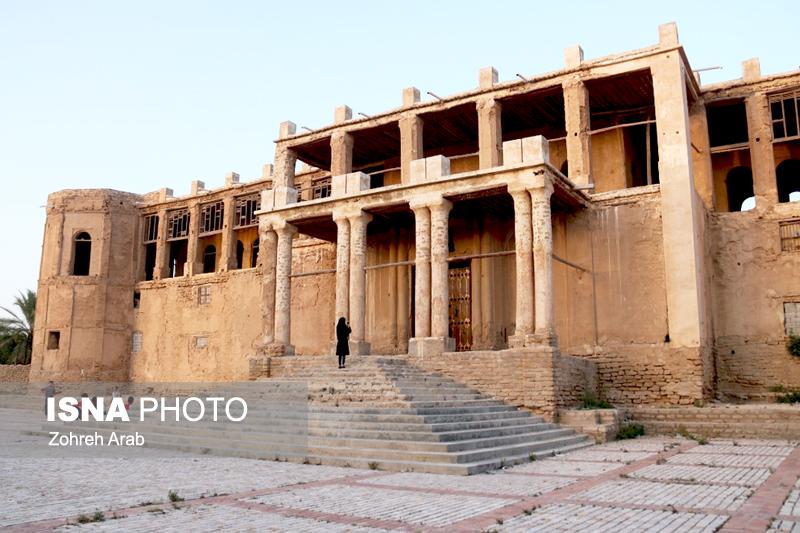 «عمارت ملک»، یادگار قاجاری ملکالتجار بوشهری +تصاویر