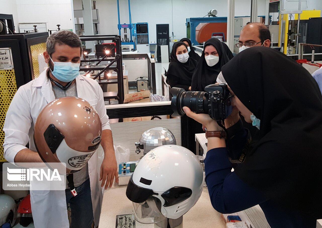 بازدید خبرنگاران بوشهری از آزمایشگاههای همکار استاندارد