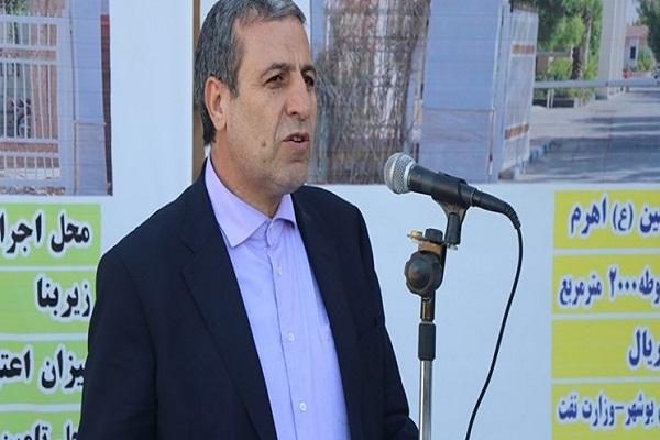 در هفته دولت؛ افتتاح پروژههای استان بوشهر به ارزش 800 میلیارد تومان