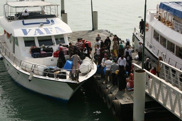 مشکل تردد دریایی در خارگ همچنان پابرجا است/ وعدهها عملی شوند