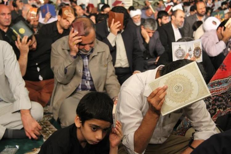 شب زندهداری بوشهریها در نخستین شب لیالی قدر